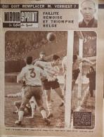 Miroir-Sprint N°812 - 26 Décembre 1961 - Foot-ball : Faillite Rémoise Et Triomphe Belge - M. Verriest - Sport