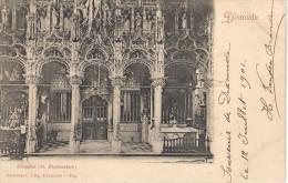 Dixmude    Edit.Sackenpre Hoogzaal Kaart In Perfekte Staat Gelopen 1901 Zegel Af. - Diksmuide