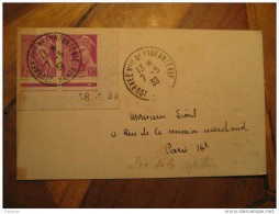 PARIS 1939 Journee Infanterie 2 Stamp Date Corner Militar War Card France - 1921-1960: Periodo Moderno