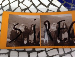 Sardaigne Osilo Femmes  En Costumes - Stereoscopio