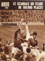 Miroir-Sprint N°978 - 1er Mars 1965 - Le Scandale Du Stade De 1000.000 Places - Rugby: Twickenham - Sport