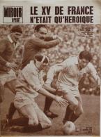 Miroir-Sprint N°1024 - 17 Janvier 1966 - Rugby: Le XV De France N'était Qu'Héroïque (Michel Crauste Et Spanghero) - Sport