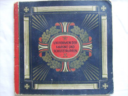 ALBUM VIGNETTE WALDORF ASTORIA UNIFORME MARINE IMPERIALE ALLEMANDE GUERRE 1914 1918 - Livres