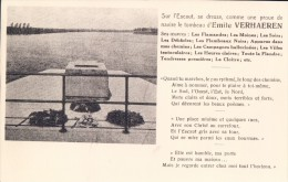 Sur L'Escaut ... Tombeau D' Emile Verhaeren ( Sint-Amands ) - Sint-Amands