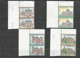 Ocb 2183 ==> 2186  ** Postfris Zonder Scharnier Met Drukdatum - België