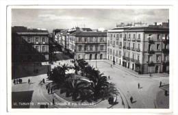 Taranto, Piazza G.Bruno E Via D´Aquino - F.p. - Anni 1930 - Taranto