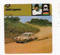 Sept15  70366    Singh Joginder    FICHE AUTO - Automobilismo - F1