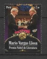Peru (2011) Yv. 1893  /  Nobel Prize - Mario Vargas Llosa - Scrittori