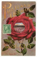 S3328 - Portland Oregon , The Rose City - Portland