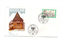 MK373 - GERMANIA , FDC 15/9/1971. Goslar - FDC: Covers