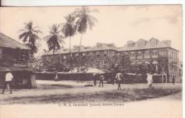 8-Sierra Leone-School-Scuola-école-v.1906 X Paris-France - Sierra Leone