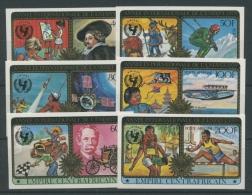 Zentralafrikanische Republik 1979 Jahr D. Kindes 606/11 B Geschnitten Postfrisch - Central African Republic