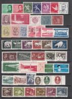 1956 - 1957   VARIOS  SELLOS   / ** / - DDR
