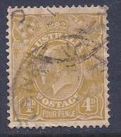 Australia, Scott # 118 Used King, 1933 - Used Stamps