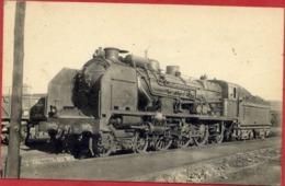37 TOURS - Locomotives Du Sud-Ouest - Machine 231 A 578 - (2 Scans) - Tours