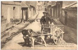 80 - AULT-ONIVAL - Un Marchand De Poissons / VOITURE à CHIEN +++++ Maurice Lévêque, Ault, #39 +++++ TOP - Ault