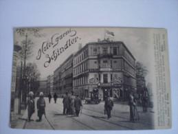 Leipzig // Hotel Garni Schindler - Georgiring - Schützenstrasse 19?? Seltener Karte - Leipzig