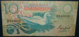 Seychelles 10 Rupees.Etat Correct - Seychelles
