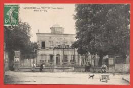 CPA Coulonges Sur L´Autize - Hôtel De Ville - Coulonges-sur-l'Autize