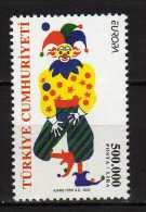 Turkey 2002 EUROPA Stamps - Circus.MNH - 1921-... Republik