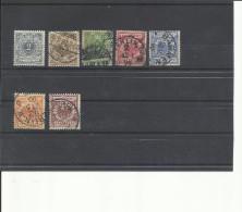 ALEMANIA YVERT 44/50 - Deutschland