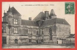 CPA Coulonges Sur L'Autize - Château - Coulonges-sur-l'Autize