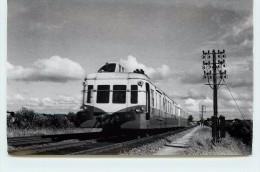 AUTORAIL  X 3800  (carte Photo Années 50) - Trains