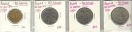 Poland 10+20+50+100 Zlotych 1989/87/90/90 - Pologne