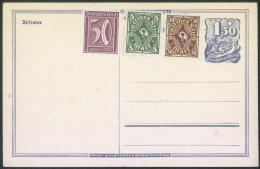 Germany Deutsches Reich Old Postal Stationery Postcard Postkarte Unused With Additional Stamps Bb - Deutschland