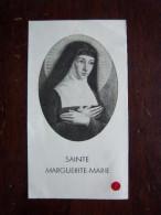 SANTINO - SAINTE MARGUERITE MARIE - RELIQUIA - 1947 - Religion &  Esoterik