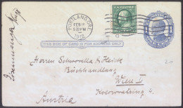 United States Old Postal Stationery 1c Postal Card Tavelled 1912 Bb - 1901-20