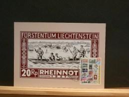 54/548   2   MAXI  CARTE  LIECHTENSTEIN - Postzegels Op Postzegels
