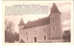 Beaubery-Environs De Vérovres-(Charolles-Saône Et Loire)-Château De Corcheval Avec Petite Notice Historique - Charolles