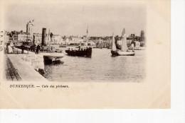 Dunkerque Cale Des Pêcheurs ( Bateau Leughenaer  Minck Pas Encore Construit éditeur VP 175 - Dunkerque