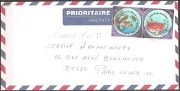 Nouvelle-calédonie - Enveloppe Datée De 2003,timbres 890+891  (bon état) - Storia Postale