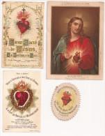Estampitas Religiosas - SAGRADO CORAZON (iparral) - Imágenes Religiosas