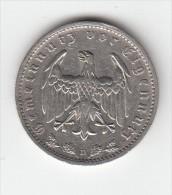 PIECE ALLEMAGNE  - TROISIEME REICH - 1 REICHMARK 1934 D - [ 4] 1933-1945 : Troisième Reich