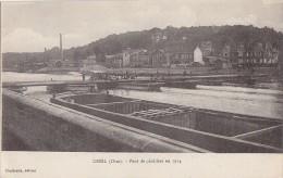 Péniches -  Pont De Péniches - Militaria Génie - Correspondance Matériel Photographique - Péniches