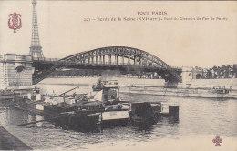 Péniches - Série Tout Paris - Péniches Bords De Seine - Tour Eiffel - Péniches