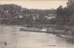 Péniches - Péniche Sur Les Bords De L'Oise à L'Isle Adam - Péniches