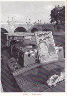 Bâteaux - Péniche Pont Neuf Emballé Par Cristo  1985 - Panneau Souvenir Otages Du Liban - Péniches