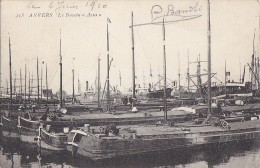 Péniches - Port De Pêche - Anvers Antwerpen  - Bassin Asia - 1910 - Péniches
