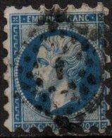 FRANCE - 20 C. Oblitéré Piquage Susse - 1853-1860 Napoleone III