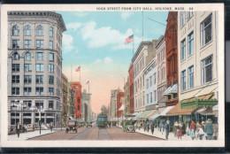 Holyoke - High Street Fom City Hall - Massachusetts - United States