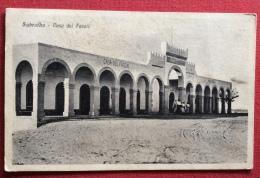 COLONIEITALIANE -SABRATHA - CASA DEL FASCIO - ALBERGO RISTORANTE SECCHI SABRATHA - PER FORLI' - 1931 - Tripolitania