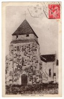 S1671 @ 03 @ NASSIGNY @ BELLE CPA : EGLISE @ A VOIR - France