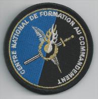 Ecusson CENTRE NATIONAL DE FORMATION AU COMMANDEMENT - Police