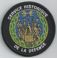 Ecusson SERVICE HISTORIQUE DE LA DEFENSE - Police
