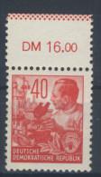 DDR Nr. 375 X II ** postfrisch