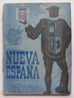 Nueva Espana. Revista Grafica Nacional. Numero Oficial Del Ministerio De Industria Y Commercio. Feria De Milan. 1940 - Riviste & Giornali